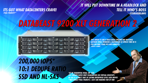 THE DATABEAST.  ITS GOT WHAT DATACENTERS CRAVE!